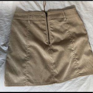 Garage Skirts - Garage - corduroy lace up mini skirt